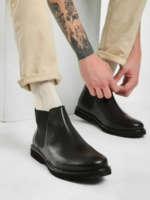 Kindred Leather Chelsea Boots
