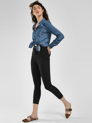 K Denim KOOVS Casual Skinny Fit Jeggings