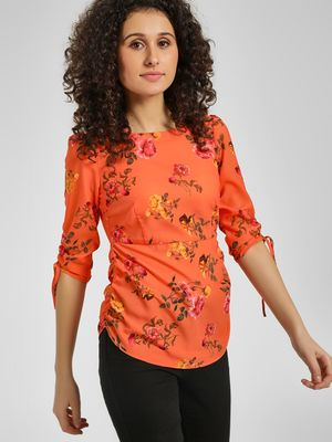 Cover Story Floral Printed Top