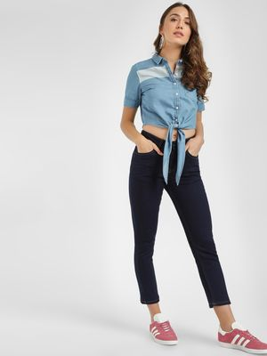 Blue Saint Basic Cropped Skinny Jeans