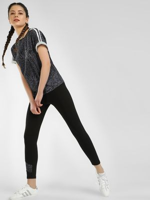 K ACTIVE KOOVS Leopard Panel Leggings