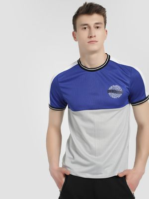 K ACTIVE KOOVS Colour Block Ringer T-Shirt