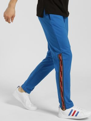 KOOVS Contrast Side Tape Panelled Joggers