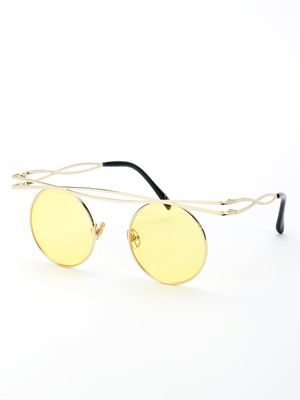Style Fiesta Coloured Lens Round Sunglasses