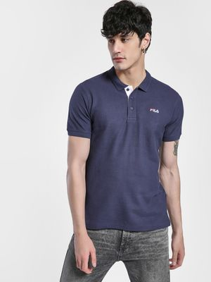 Fila Logo Detail Polo Shirt