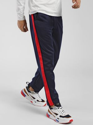 KOOVS Contrast Side Tape Joggers