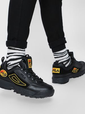 Fila HERITAGE Disruptor II Patches Trainers