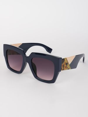 Pataaka Coloured Frame Broad Square Sunglasses