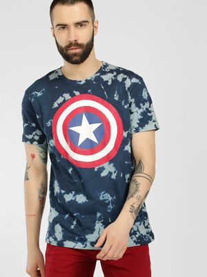 Free Authority Avengers Tie & Dye T-Shirt
