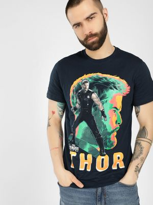 Free Authority Avengers Placement Print T-Shirt