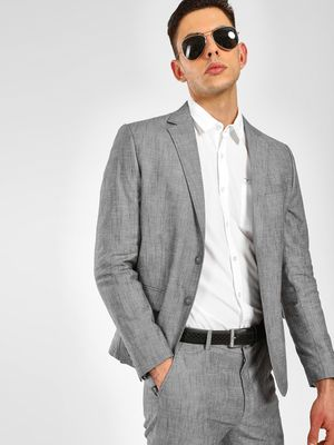 KOOVS Slim Fit Formal Blazer