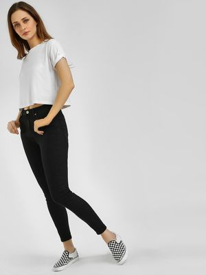 LOVEGEN Basic High-Waist Skinny Jeans