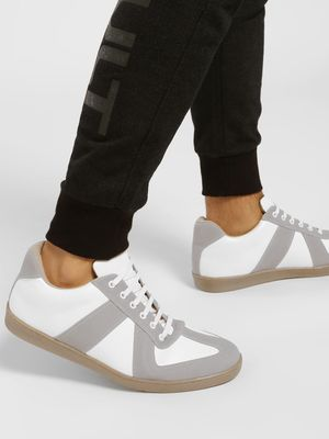 Kindred Suede Panel Gum Sole Sneakers