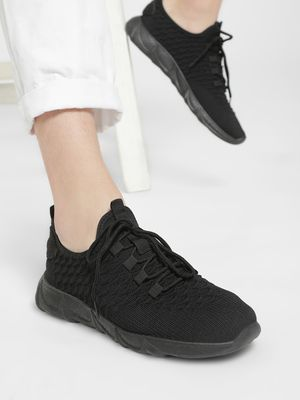 KOOVS Knitted Casual Shoes