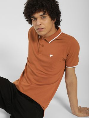 Garcon Tipping Collar Polo Shirt