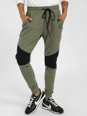 SKULT By Shahid Kapoor Quilted Biker Panel Joggers