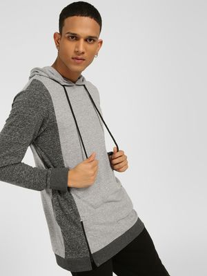 SKULT By Shahid Kapoor Cut & Sew Colour Block Hoodie