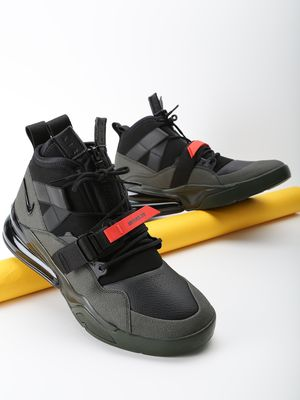 Nike Air Force 270 Utility Black Volt Trainers