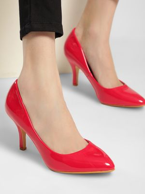 Truffle Collection Basic Patent Pumps