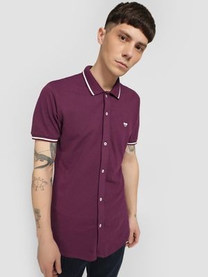 Garcon Short Sleeve Pique Shirt