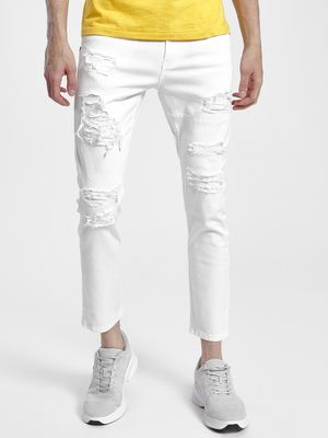 Blue Saint Distressed Skinny Jeans
