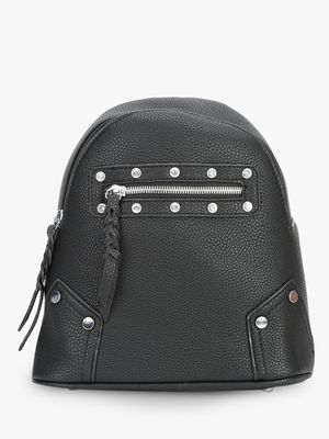 Koko Fashion Diamante Studded Mini Backpack