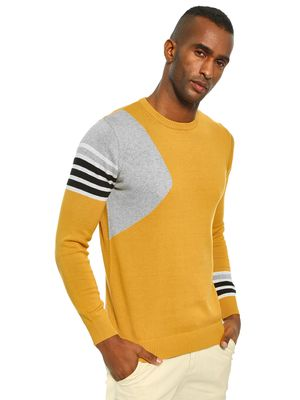Akiva Colour Block Panel Pullover