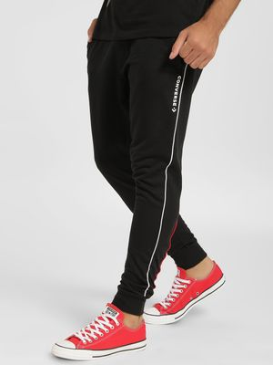 Converse Side Contrast Piping Joggers