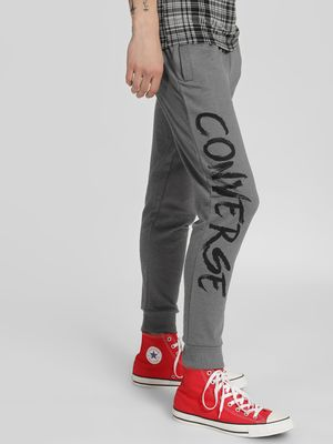Converse Side Print Joggers