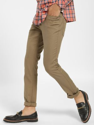 SCULLERS Basic Slim Fit Trousers