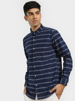 Buffalo Long Sleeve Horizontal Stripe Shirt