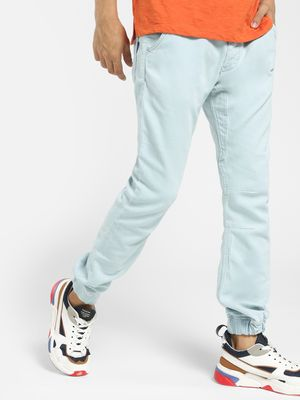 Blue Saint Light Wash Cuffed Hem Slim Jeans
