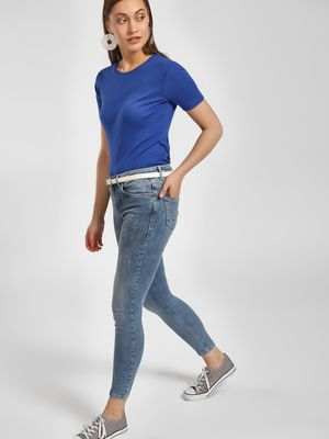 LC Waikiki Light Wash Cropped Skinny Jeans