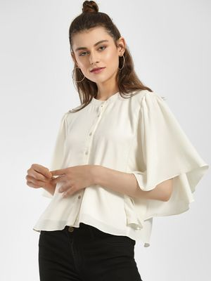 ISU Flap Back Butterfly Sleeve Shirt