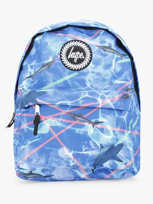 Hype Shark Print Backpack