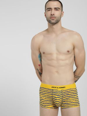Jack & Jones Draw Stripe Print Trunks