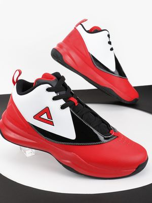 Peak Colour Block Perforated Basketball Shoes