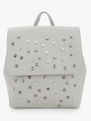 People Stud Embellished Mini Backpack