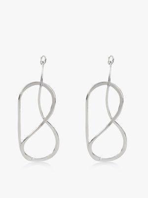 Zero Kaata Asymmetric Drop Down Earrings