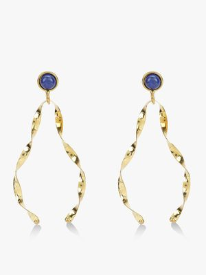 Zero Kaata Twisted Statement Earrings