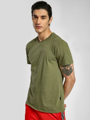 KOOVS Basic Crew Neck Slim T-Shirt