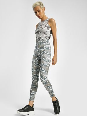 K ACTIVE KOOVS Camo Print High-Waist Leggings