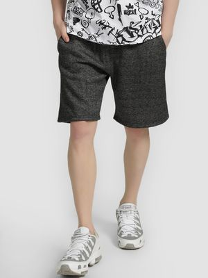 Brave Soul Basic Fleece Woven Shorts