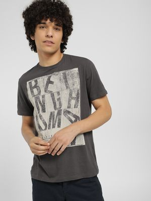 Being Human Placement Print T-Shirt