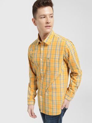 Lee Cooper Multi Check Long Sleeve Shirt