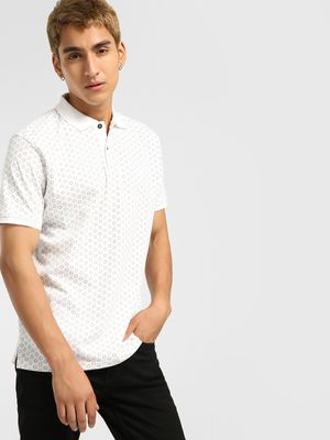 Buffalo All Over Printed Polo Shirt