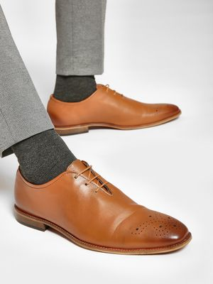 Bolt Of The Good Stuff Brogue Punches Oxford Shoes