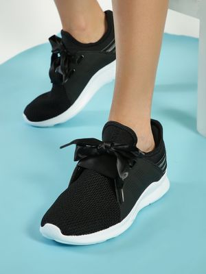 361 Degree Mesh Knitted Lace-Up Trainers