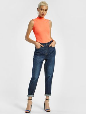 Privy League Dark Wash Boyfriend Jeans