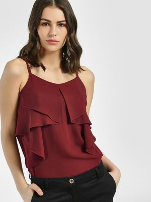Miaminx Layered Yoke Cami Top